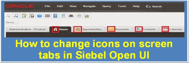 Add or modify icons on screen tabs in Siebel Open UI