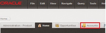 Customize icons on screen tabs in Siebel Open UI