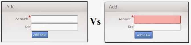 Highlight required fields in Siebel Open UI