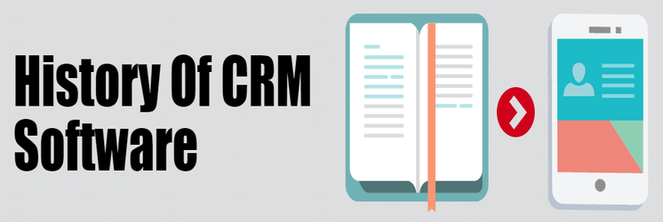 history of crm software